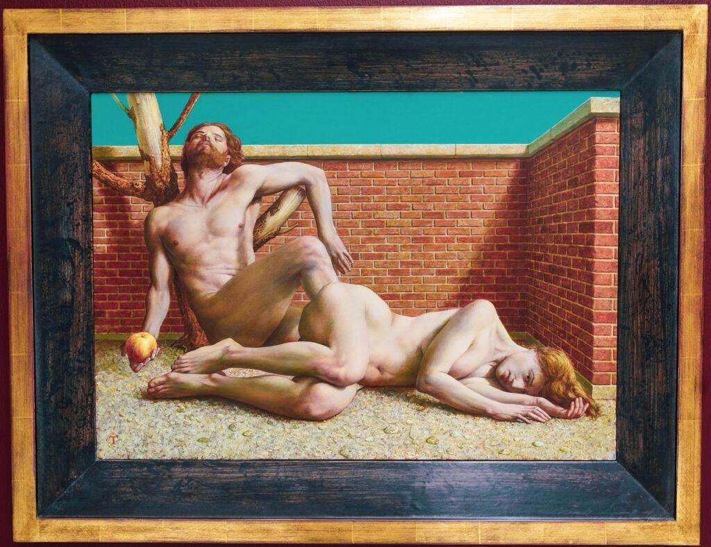 Michael Triegel, Adam und Eva; 2008, Mischtechnik auf MDF